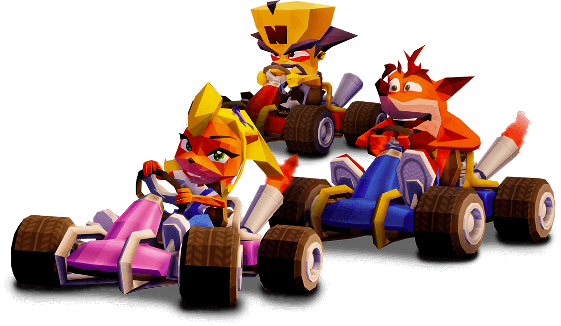Crash Racer Trio