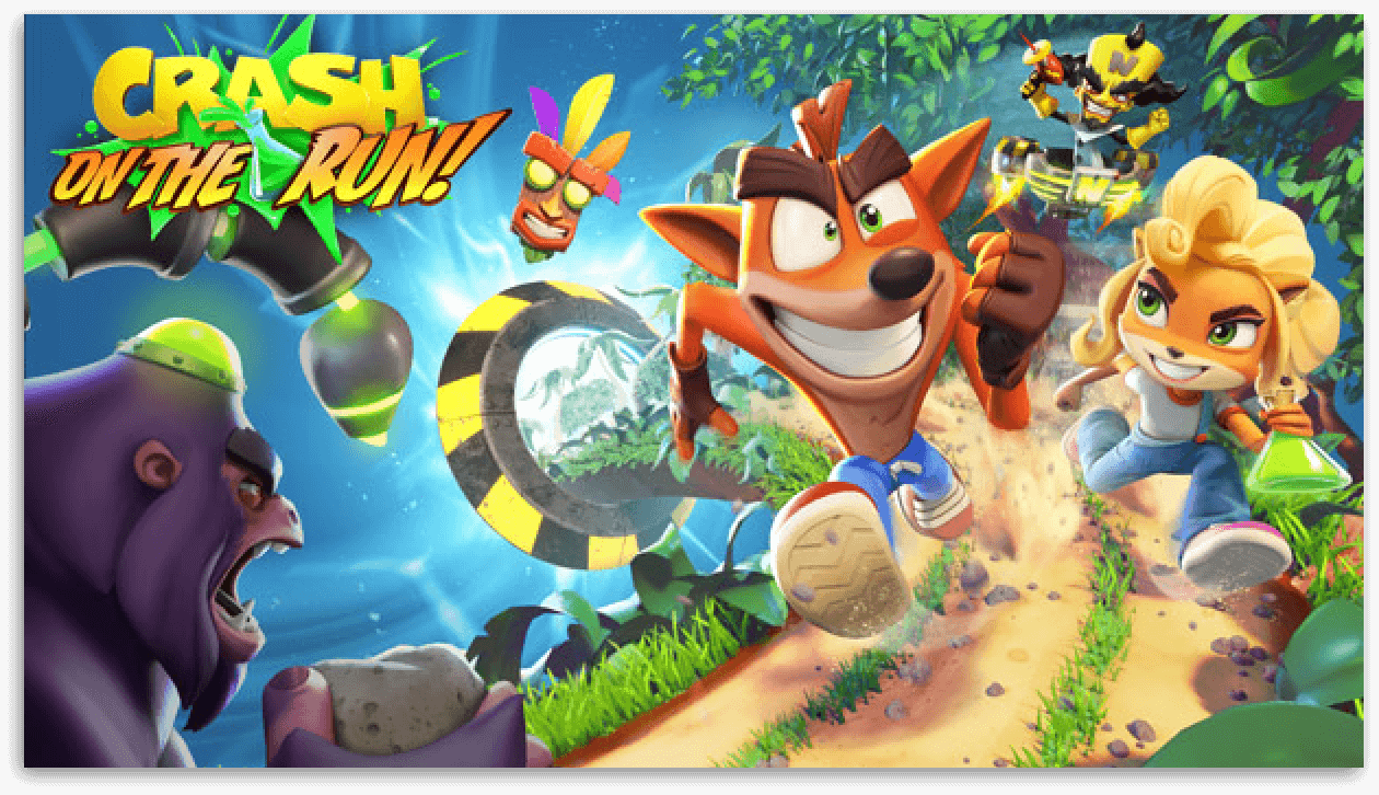 Crash: On The Run!™