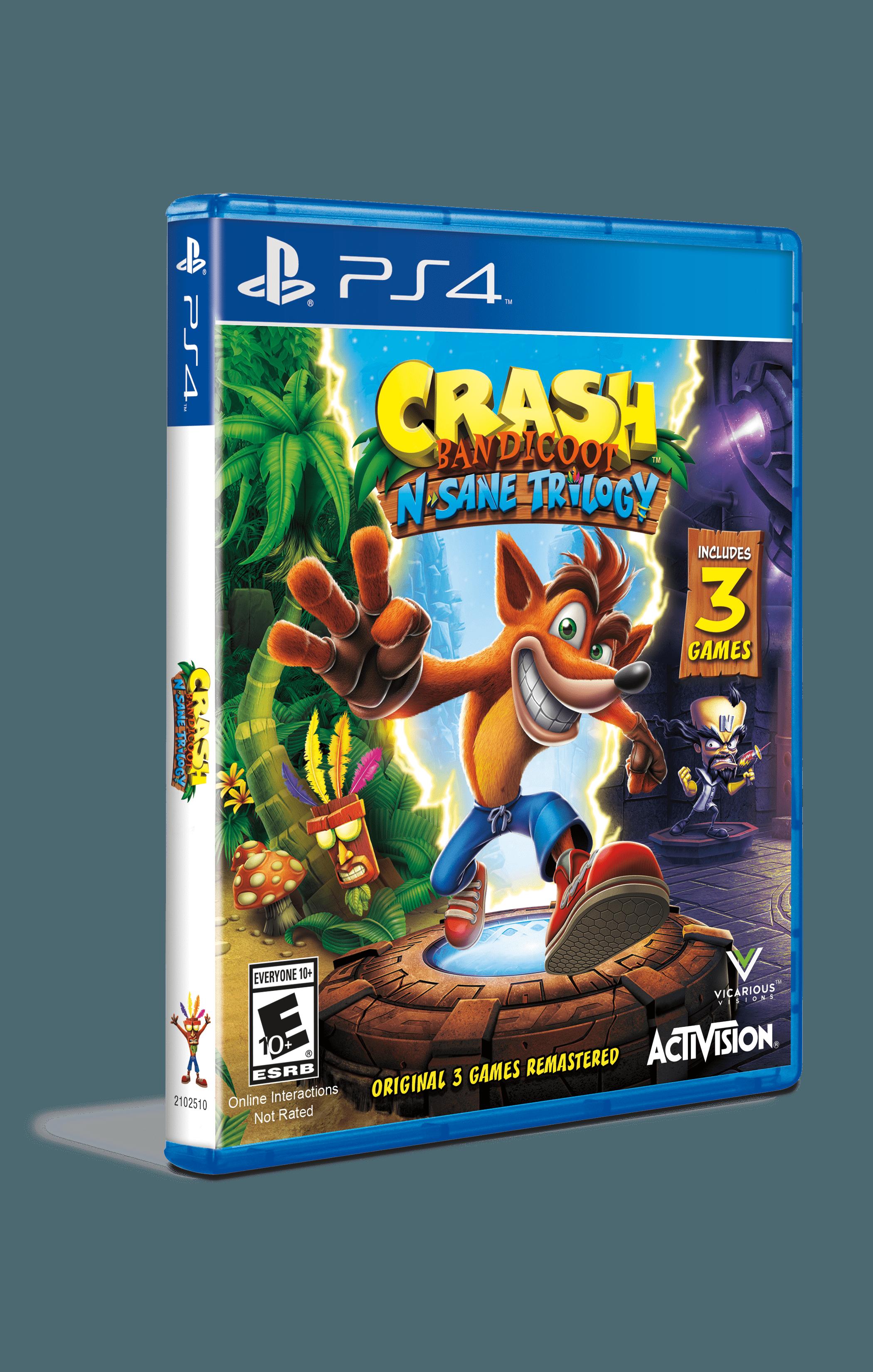 Crash Bandicoot: N Sane Trilogy | Original PS1 Covers